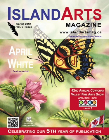 Island Arts Magazine cover